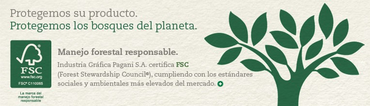 Industria Gráfica Pagani S.A. certifica FSC (Forest Stewardship Council®)